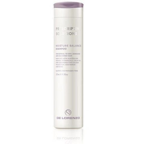 De Lorenzo Prescriptive Solutions Moisture Balance Shampoo 275ml - Bang Hair & Beauty
