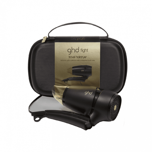 ghd flight® saharan gold travel hair dryer - Bang Hair & Beauty