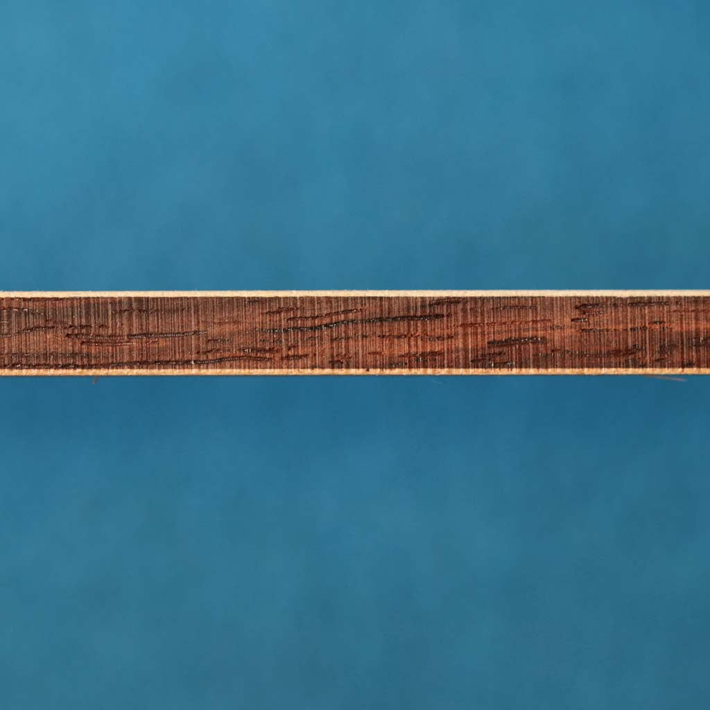 Maple / Indian Rosewood / Maple Backstrips