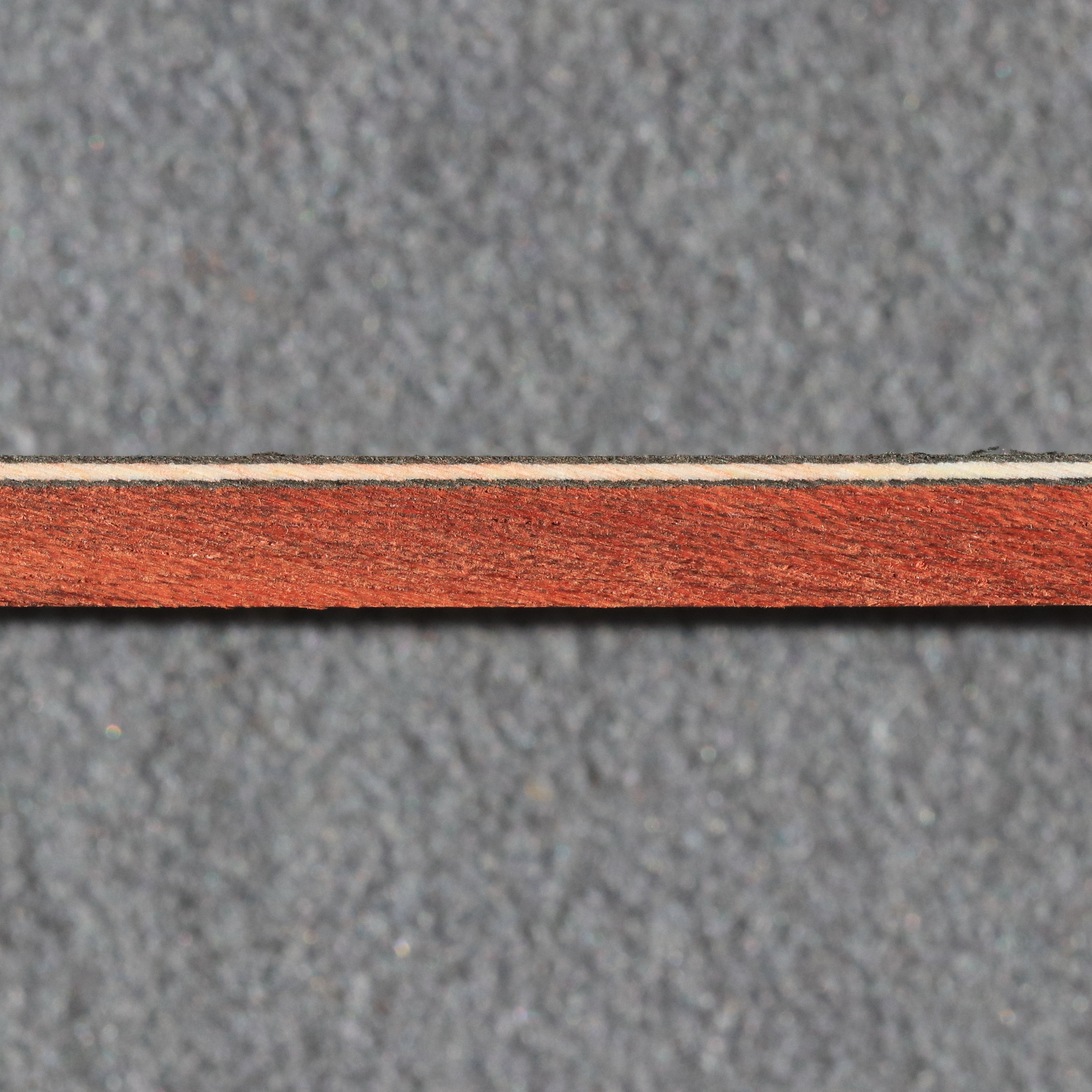 Bloodwood w/ Black  / White / Black strips