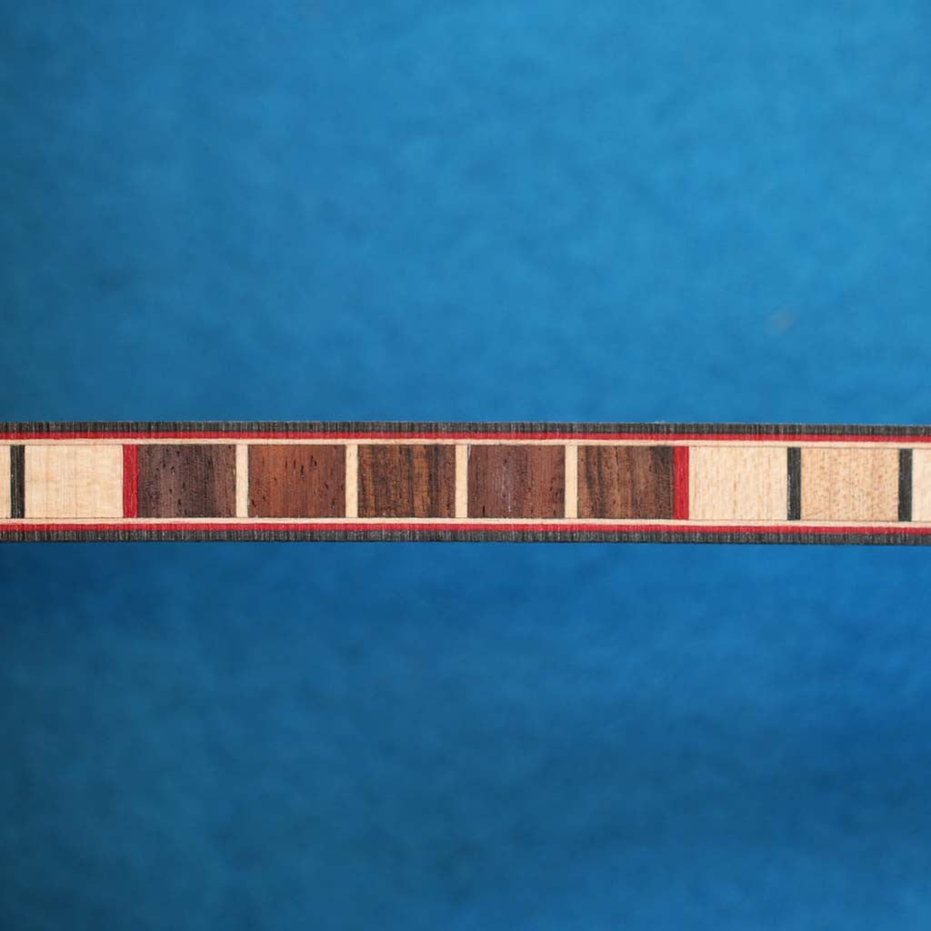 Ladder Pattern, Indian Rosewood/Maple Inlay Banding Strip