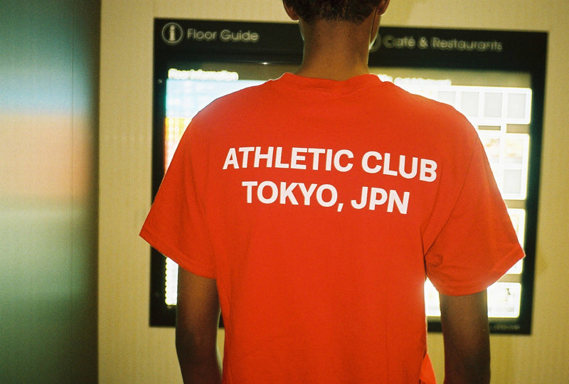 Tokyo Athletic Club All-Nippon T&F T-Shirt / Red
