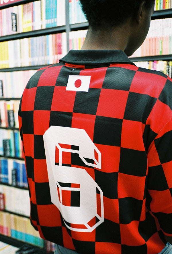 81' Check away jersey #6