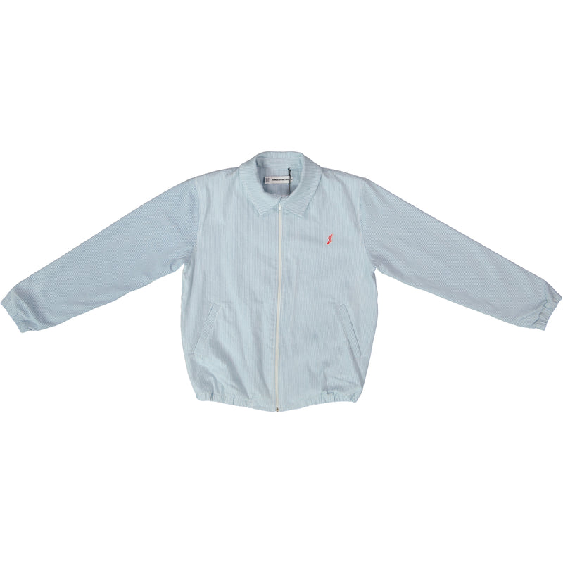 Tokyo Athletic Club Bleach Blue Hickory Stripe Members Jacket