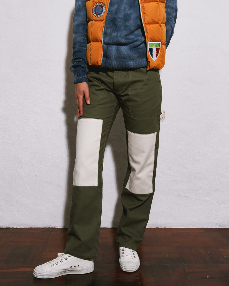 Patch Painters Pants / Army Green
