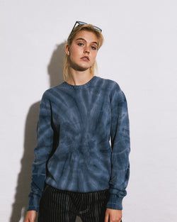 Ocean Ripple Cotton Sweater