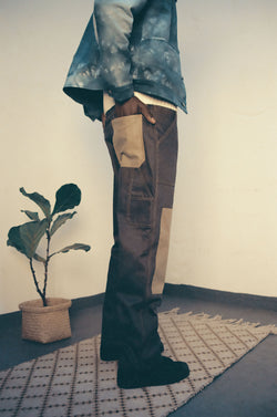 Patch Painters Pants / Denim