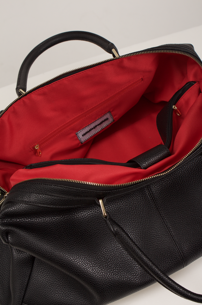 HBN Leather Duffle Bag