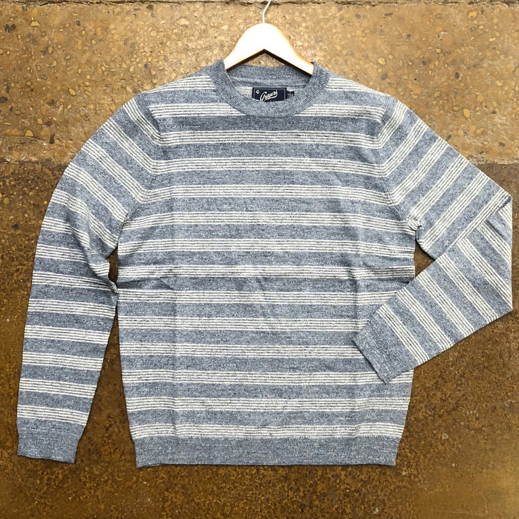 Grayers Blue/Gray Heather Stripe Pullover