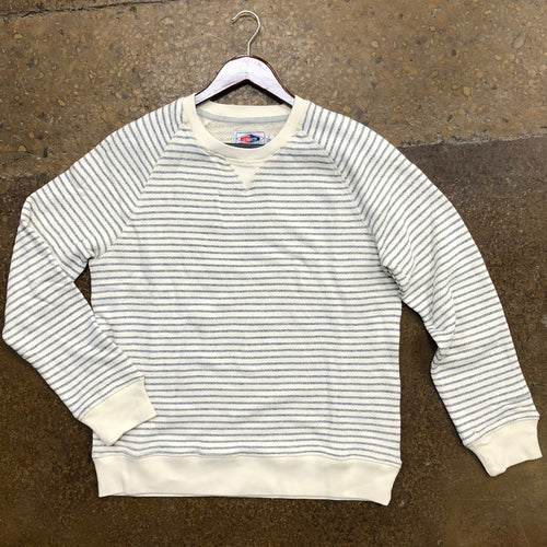 Grayers White/Navy Striped Pullover