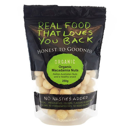 Macadamias Raw 250g (Available again!)