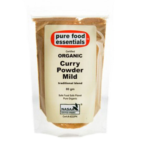 Organic Curry Powder Mild 80g (Sachet)