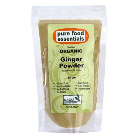 Organic Ginger Powder (Sachet) 80g
