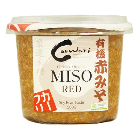 Organic Miso Paste - Red 500g