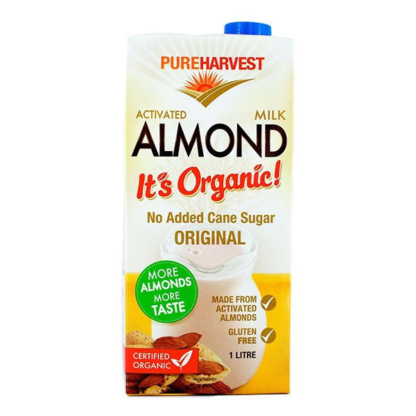 Organic Activated Almond Milk 1L