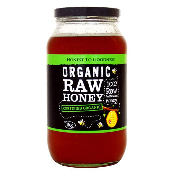 Organic Raw Honey - Australian 1KG
