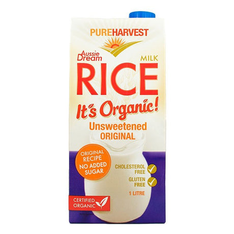 Organic Rice Milk -Original 1L