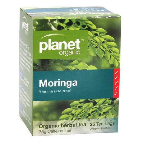 Planet Organic Moringa Tea Bags x 25