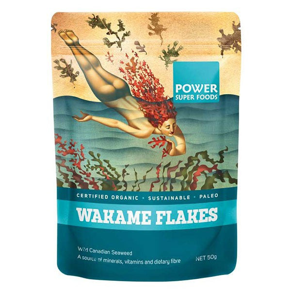 Organic Wakame Flakes (PSF) 50g