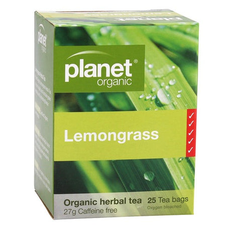 Planet Organic Lemongrass Tea Bags x 25