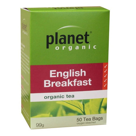 Planet Organic English Breakfast Tea Bags x 50