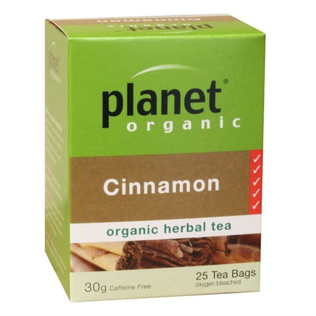 Planet Organic Cinnamon Tea Bags x 25