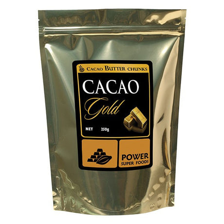 Organic Cacao Butter Chunks 250g