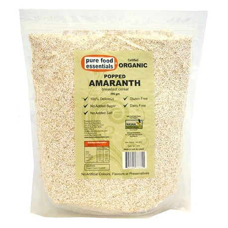 Organic Amaranth Popped 200g