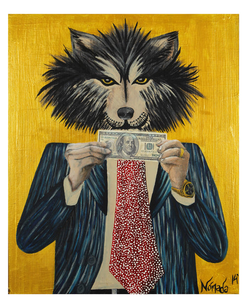 The Wolf of Wallstreet (paper print)