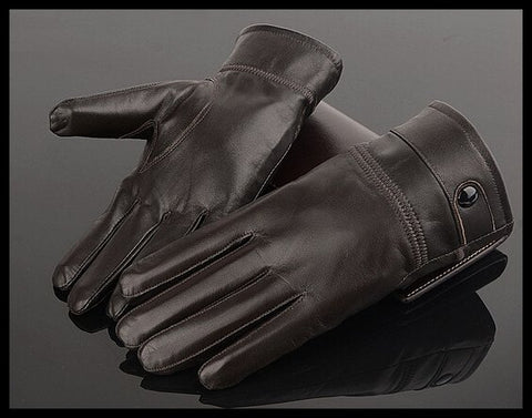 Harppihop leather gloves