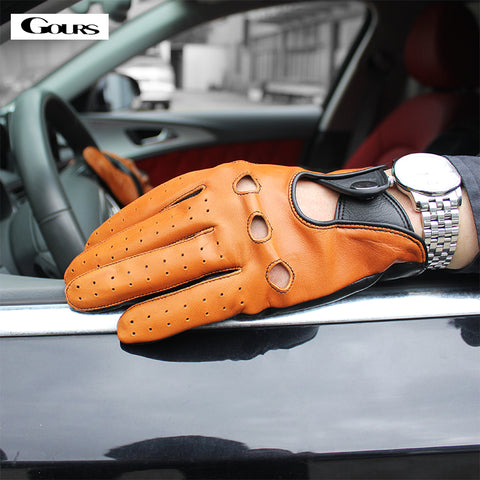 Gours  Leather Gloves
