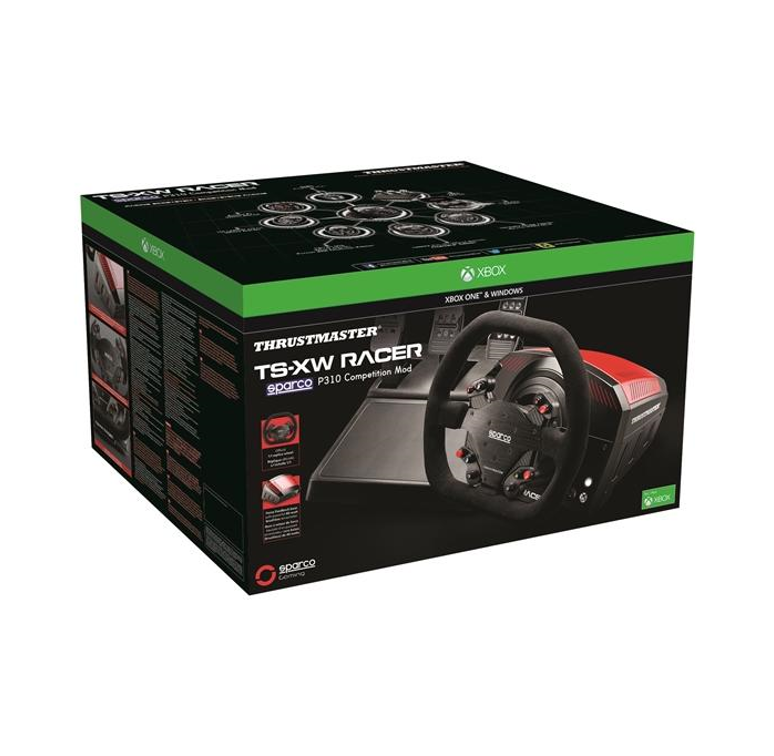*Pre order now for next Shipment* Thrustmaster TS-XW Sparco Racer Wheel & T3PA Pedals - Xbox One & PC