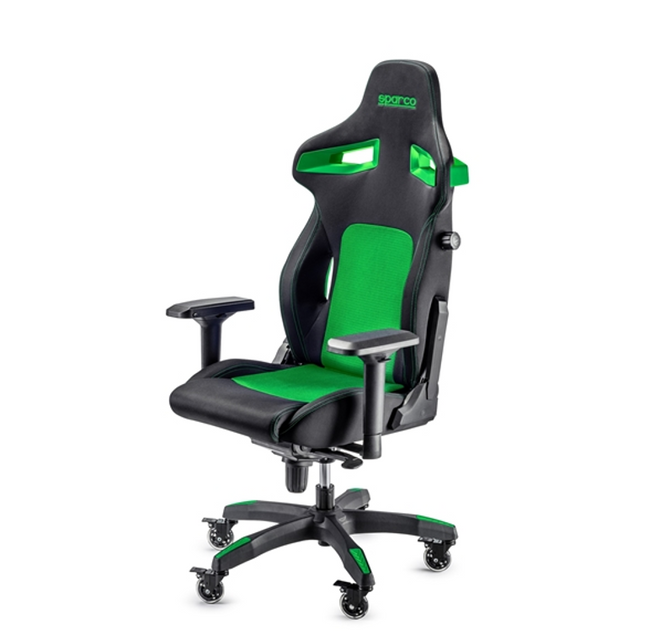Sparco Stint Gaming Seat - Black/Green
