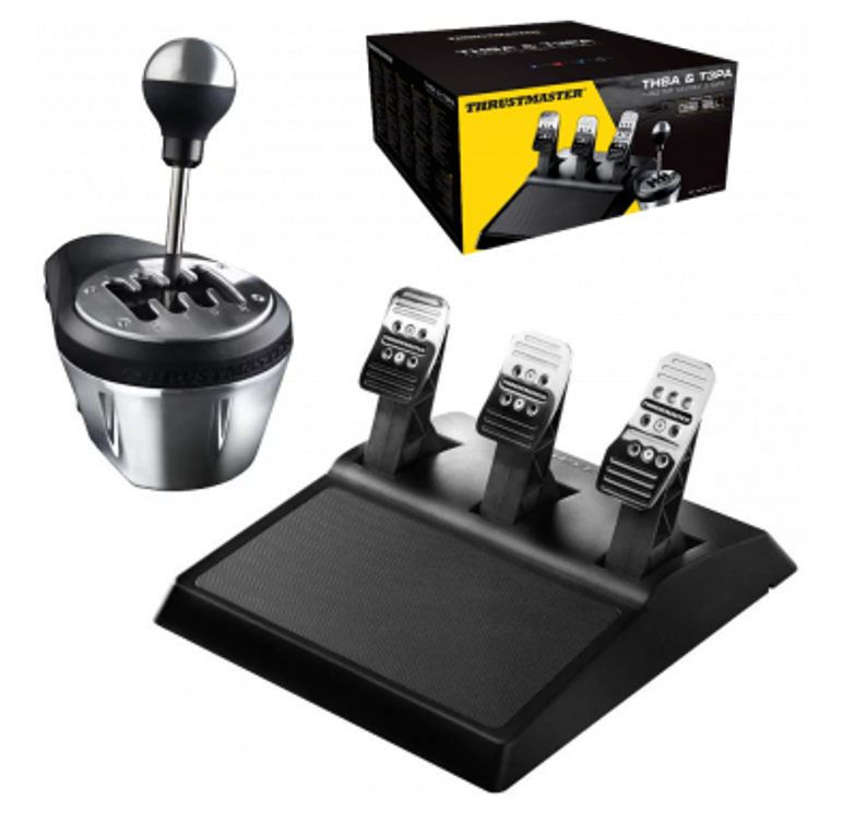 Thrustmaster TH8A + T3PA Race Gear Bundle