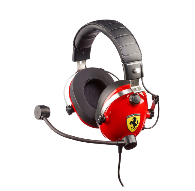 Thrustmaster T-Racing Scuderia Ferrari Edition Gaming Headset - All Formats