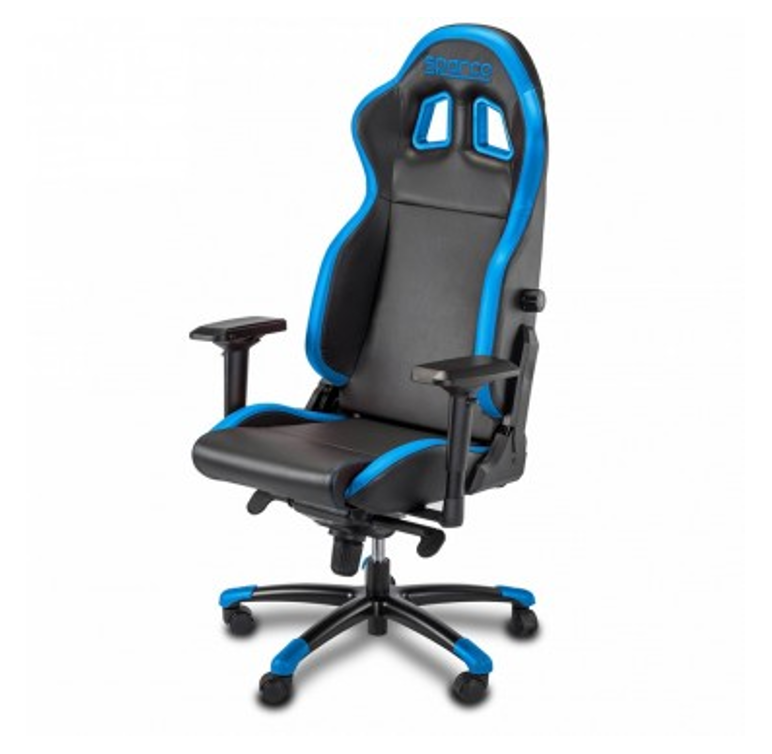 Sparco Grip Gaming Seat - Black/Blue