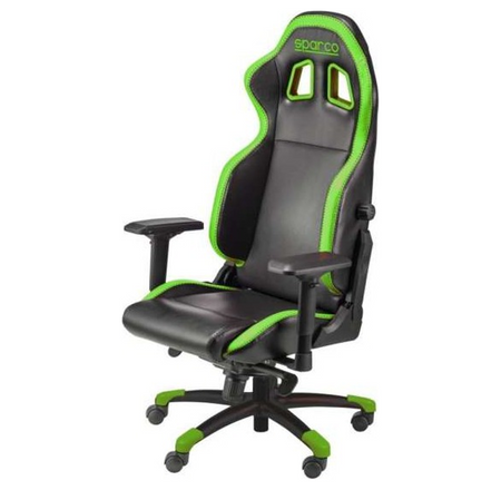 Sparco Grip Gaming Seat - Black/Green