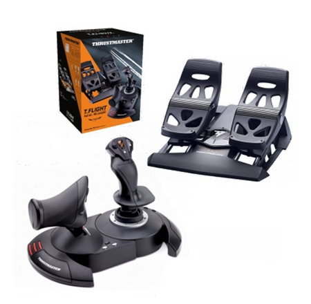 Thrustmaster T-FLIGHT Full Kit - HOTAS X + TFRP Rudder Bundle
