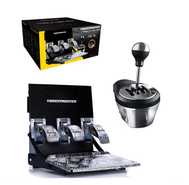 Thrustmaster TH8A + T3PA PRO Race Gear Bundle