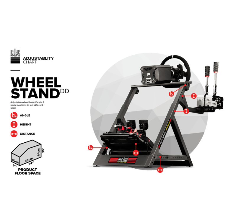 Next Level Racing Wheel Stand DD