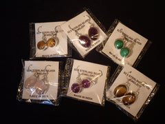 Earrings Sterling Silver/Gemstone