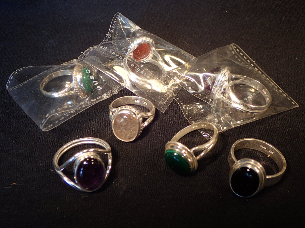 Ring Sterling Silver/Gemstone
