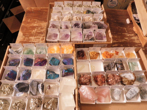 Minerals Boxed - All Showy Ones
