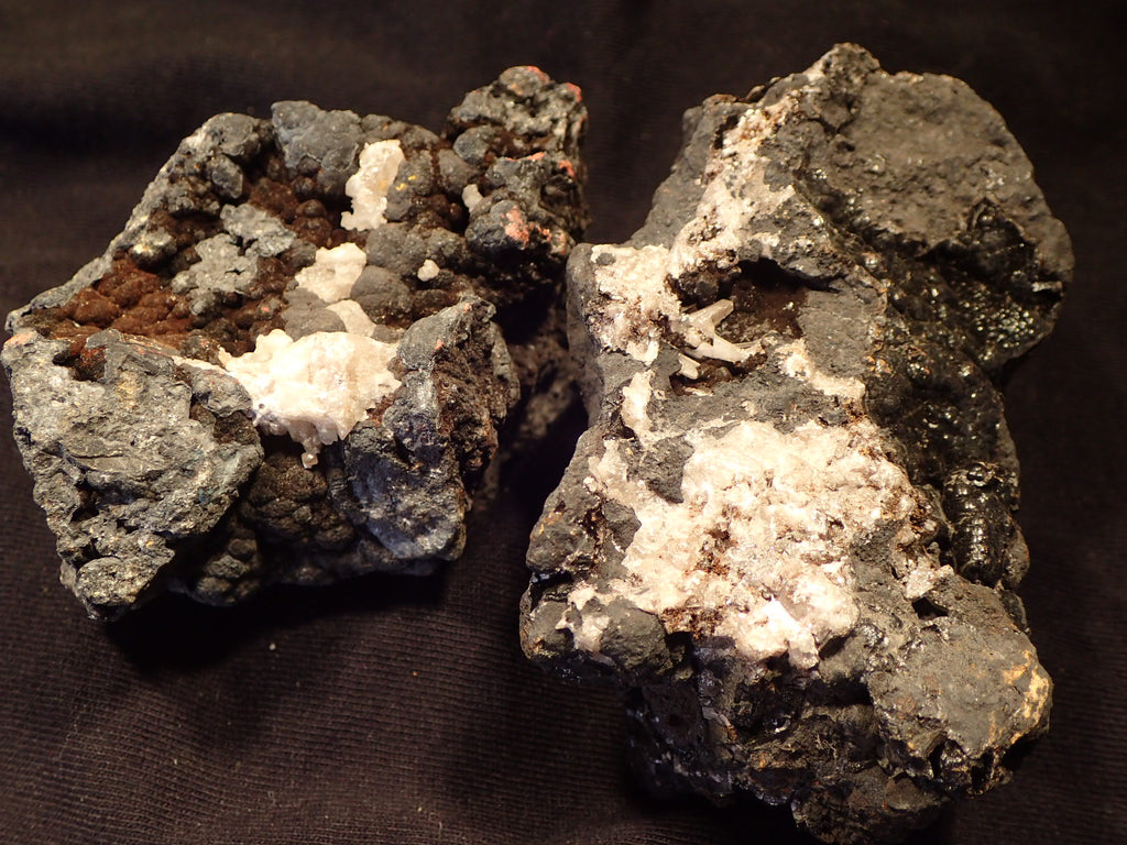 Cerusite - White Rough On Matrix