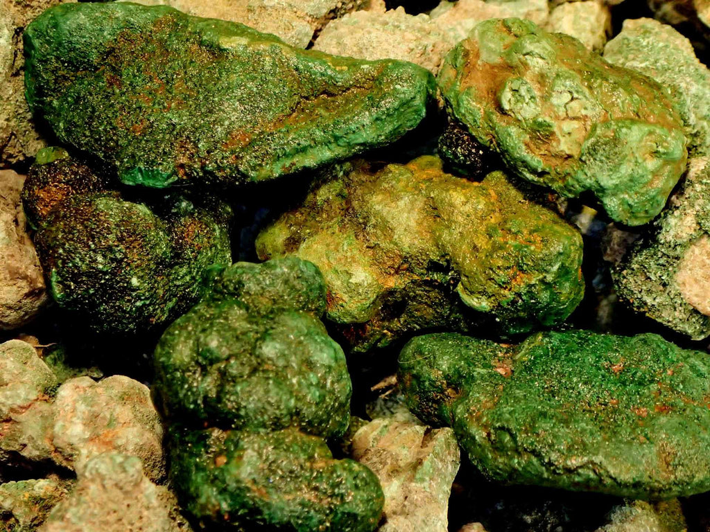Malachite - Green Nodules