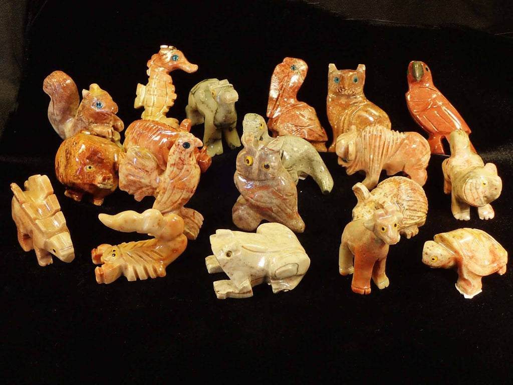 Animals - Carved Marble