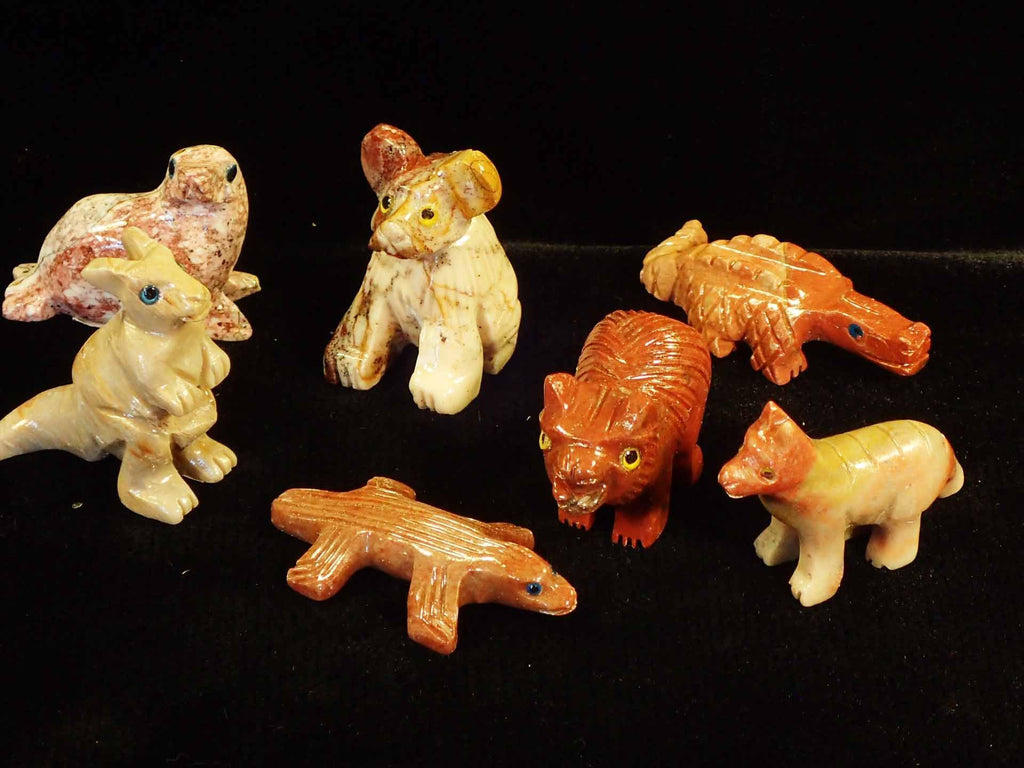 Animals - Carved Australian