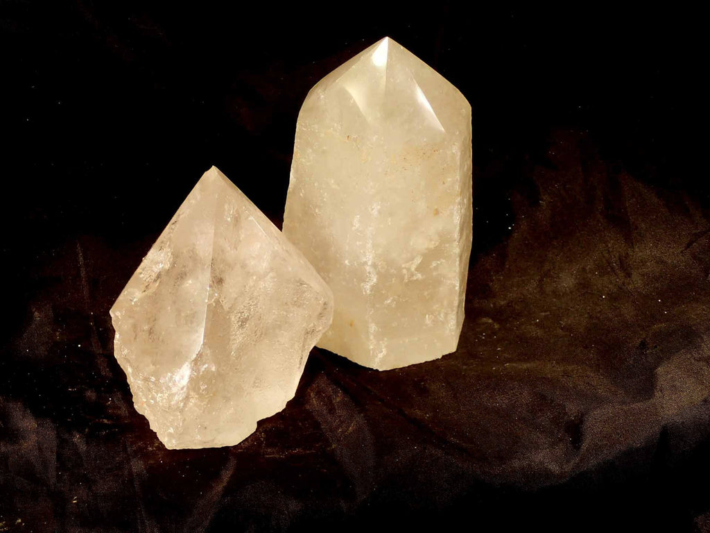 Quartz Crystal Polished Top Generator