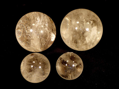 Quartz Crystal Spheres