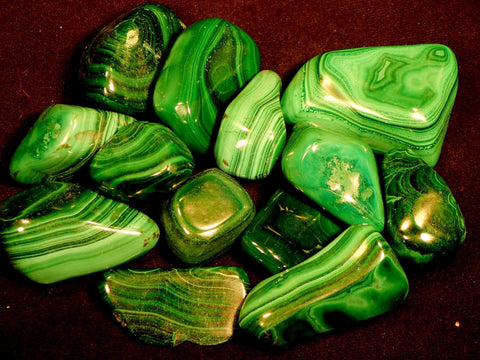 Tumbled - Malachite